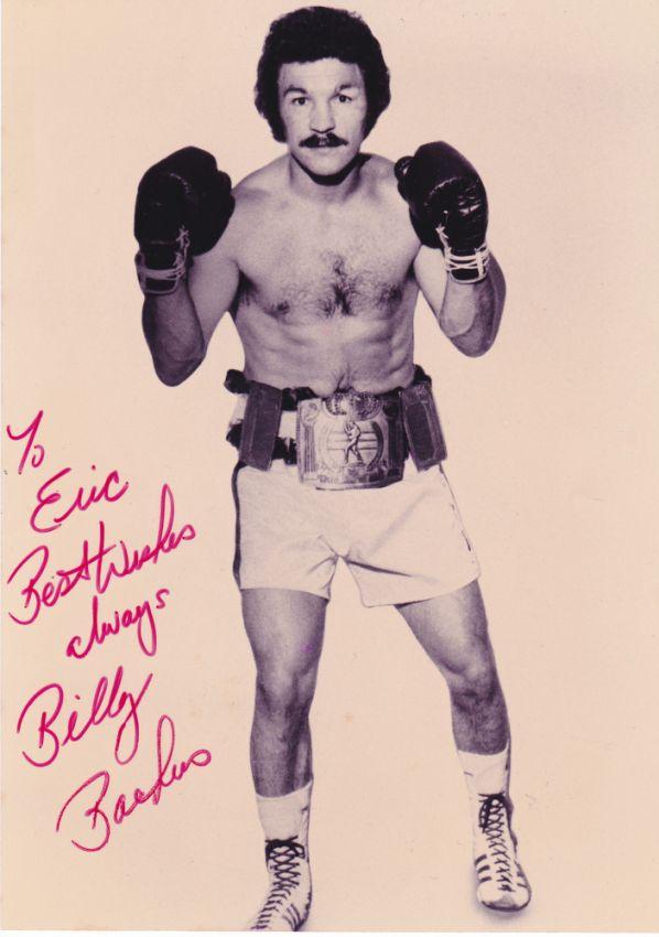 Билли Бакусу 74!