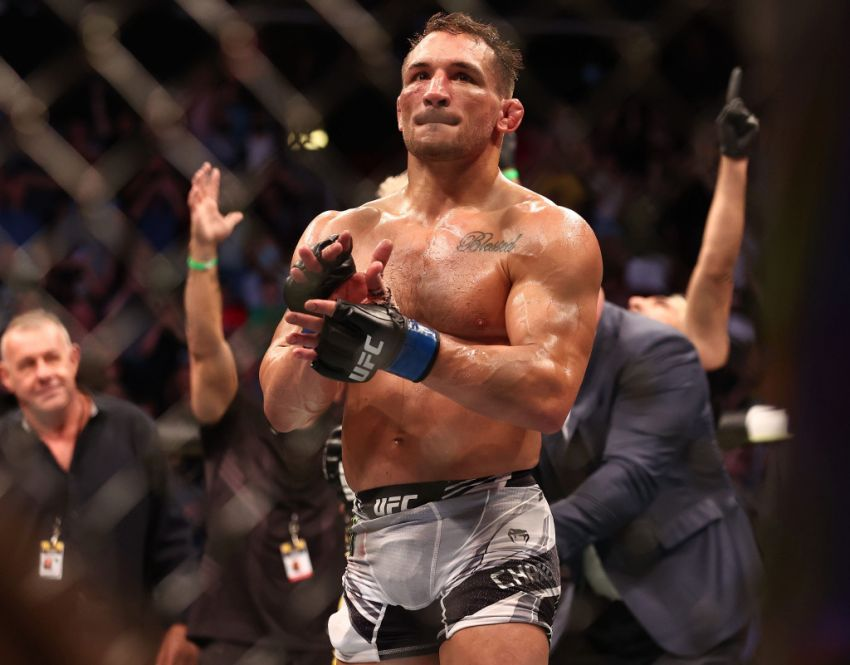 Michael Chandler spoke on social media about Oliveira's defeat