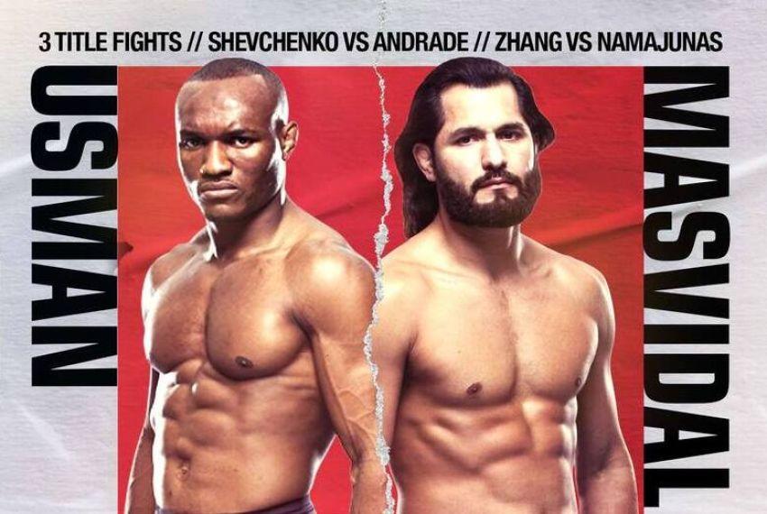 UFC 261. Смотреть онлайн прямой эфир