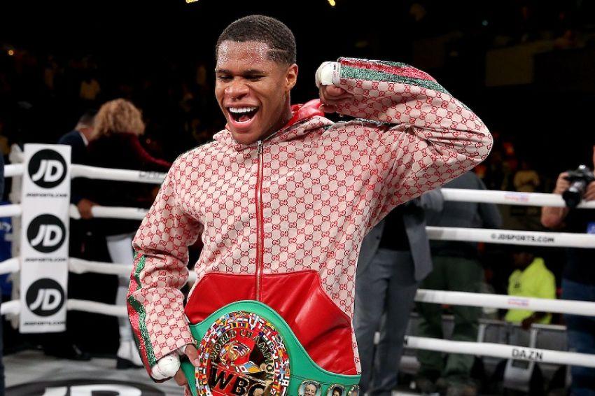 """Дэвин Хэйни: """"Лопес, расскажи, как ты избегал меня в турнире WBC"""""""