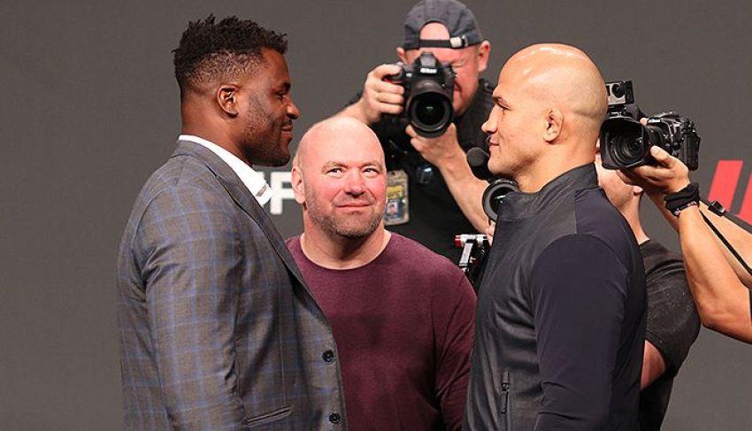 Прогнозы бойцов MMA на бой Фрэнсис Нганну - Джуниор Дос Сантос на UFC on ESPN 3