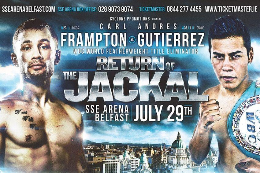 Карл Фрэмптон потерял возможность стать официальным претендентом на пояс WBC из-за перевеса