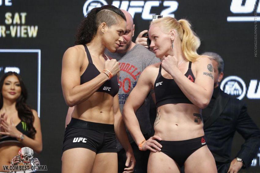 Аманда Нунес хочет драться на UFC 212 в Бразилии, Валентину Шевченко не устраивает дата