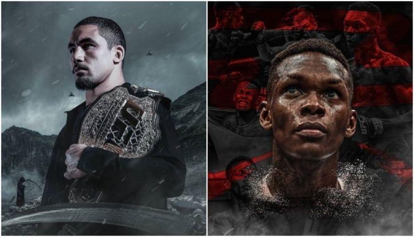 В разработке: Роберт Уиттакер - Исраэль Адесанья на турнире UFC 243 в Сиднее