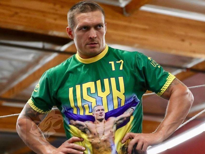 Александр Усик нацелился на абсолютное чемпионство в супертяжелом весе
