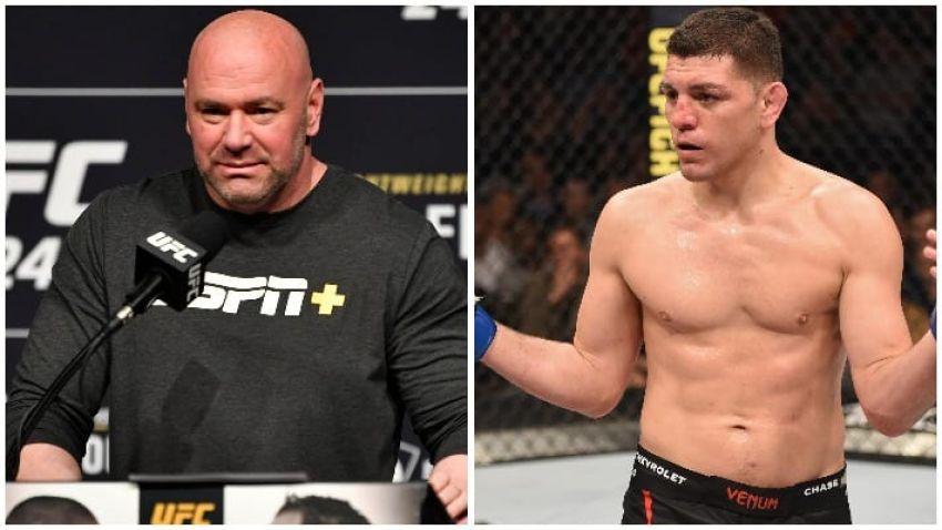 Дана Уайт советует Нику Диасу держаться подальше от среднего дивизиона UFC