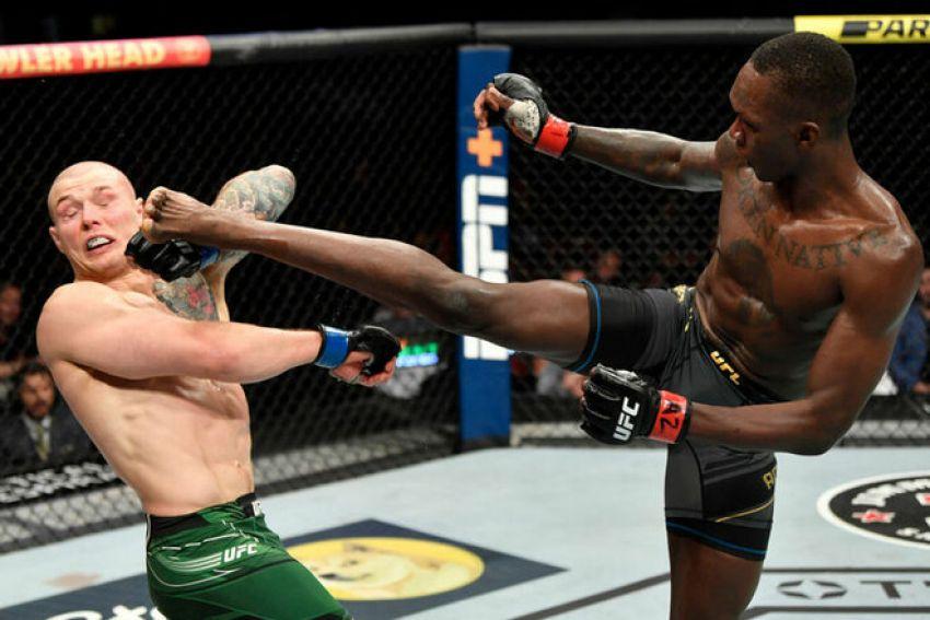 Слова Исраэля Адесаньи после победы в реванше с Веттори на UFC 263