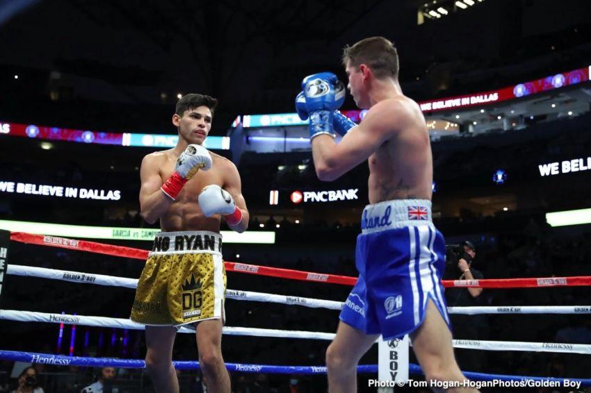 """Майки Гарсия: """"Я не думаю, что Райан Гарсия готов драться с Дэвисом"""""""