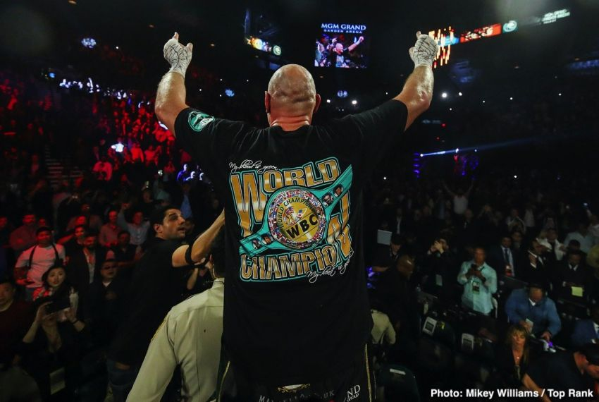 Реванш Уайлдера и Фьюри стал самым прибыльным боем тяжеловесов в истории Лас-Вегаса, побив 20-летний рекорд