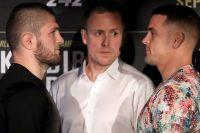 Прямая трансляция пресс-конференции UFC 242: Хабиб Нурмагомедов - Дастин Порье