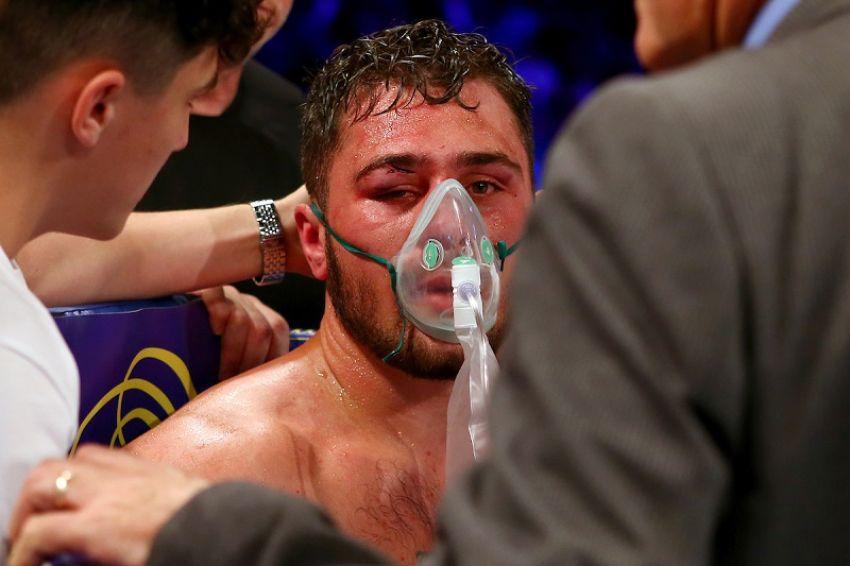 Дэвид Аллен попал в больницу после боя с Дэвидом Прайсом