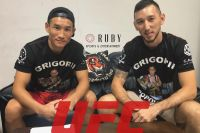 Григорий Попов подписал контракт с UFC
