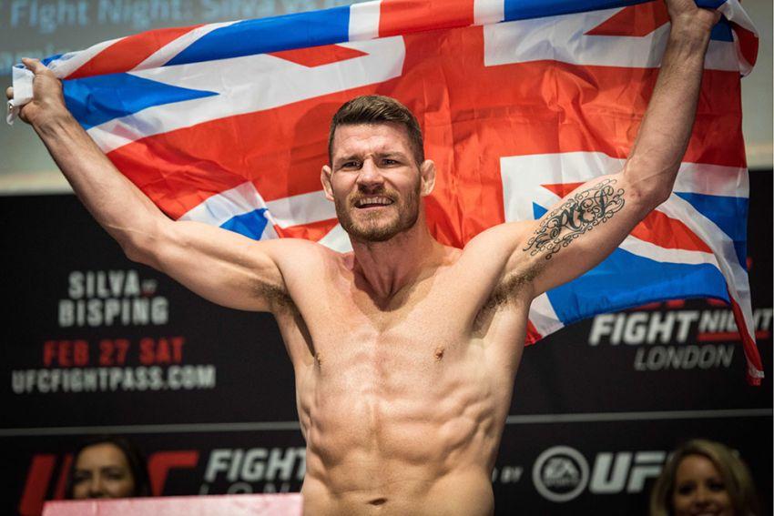 Майкл Биспинг будет введен в Зал Славы UFC