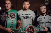 Пояс WBC Александра Поветкина и специальный пояс для тренера прибыли в Россию