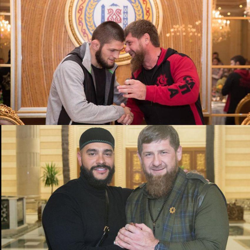 Рамзан Кадыров помирил Хабиба Нурмагомедова и Тимати