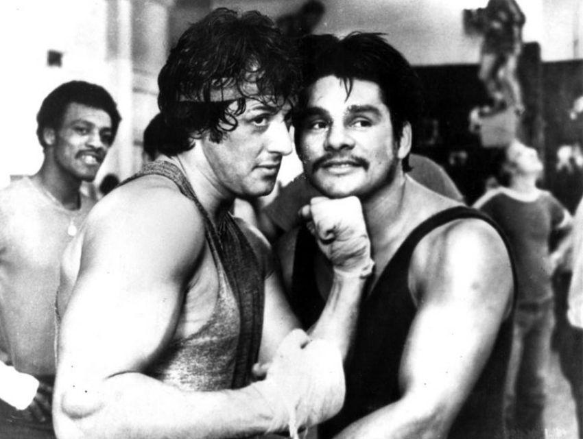 Сильвестр Сталлоне играя роль Рокки Бальбоа был по настоящему избит легендой бокса