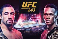 UFC 243 Роберт Уиттакер - Исраэль Адесанья. Смотреть онлайн прямой эфир