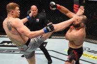 Максим Гришин досрочно остановил Гаджимурада Антигулова на UFC on ESPN+ 38