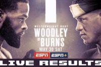 Результаты турнира UFC on ESPN 9: Тайрон Вудли - Гилберт Бернс