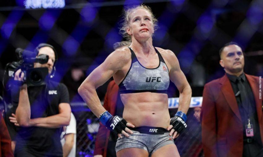 Холли Холм прокомментировала свое поражение Аманде Нуньес на UFC 239
