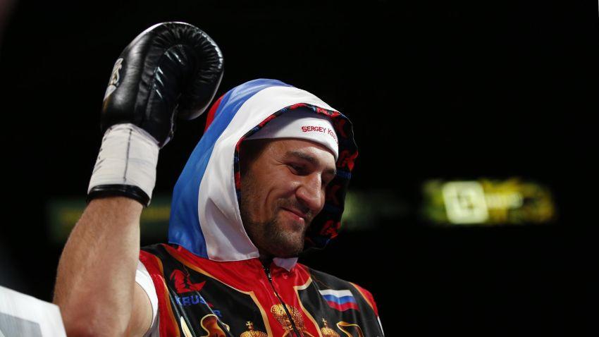 Сергей Ковалев может выступить в первом тяжелом весе