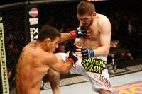 Видео боя Хабиб Нурмагомедов - Рафаэль Дос Аньос UFC on Fox 11