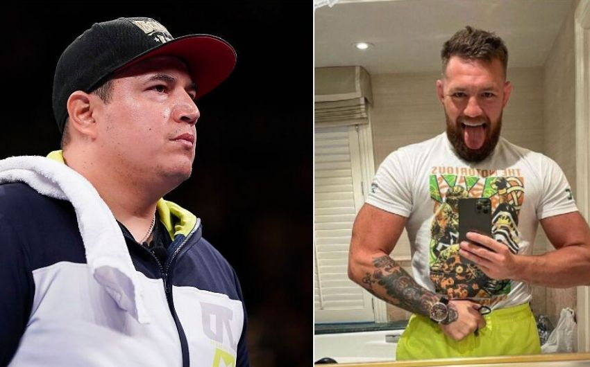 Conor McGregor wants to work with Canelo's coach Eddy Reynoso