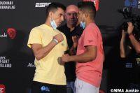 Видео боя Томас Алмейда - Джонатан Мартинес UFC on ESPN+ 38