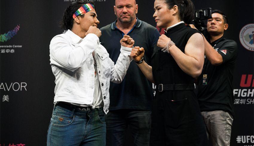 """Джессика Андраде: """"Вейли Жанг действительно очень сильный боец"""""""