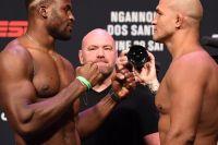 Церемония взвешивания турнира UFC on ESPN 3: Фрэнсис Нганну - Джуниор Дос Сантос