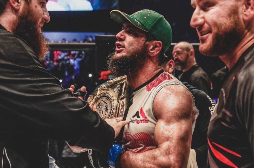 Али Багов победил Хусейна Халиева болевым приемом, завоевав титул чемпиона легкого веса на АСА 99
