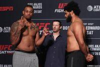 Видео боя Грэг Харди - Хуан Адамс UFC on ESPN 4