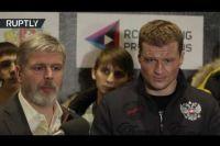 Александр Поветкин: я знал, что бой со Стиверном не состоится — у него не горели глаза