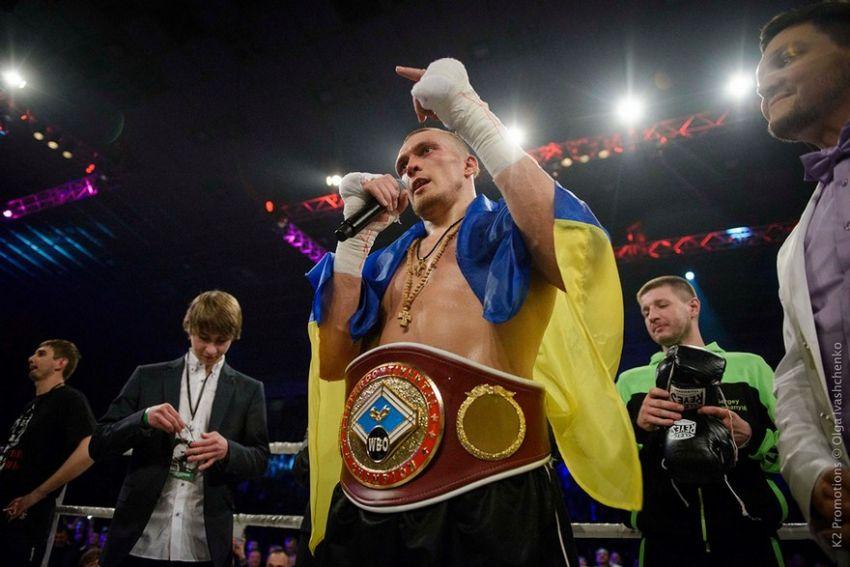 Усик отказался от титула WBO в тяжелом весе. Новым чемпионом мира стал Гловацки