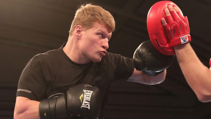 Александр Поветкин начал подготовку к следующему бою