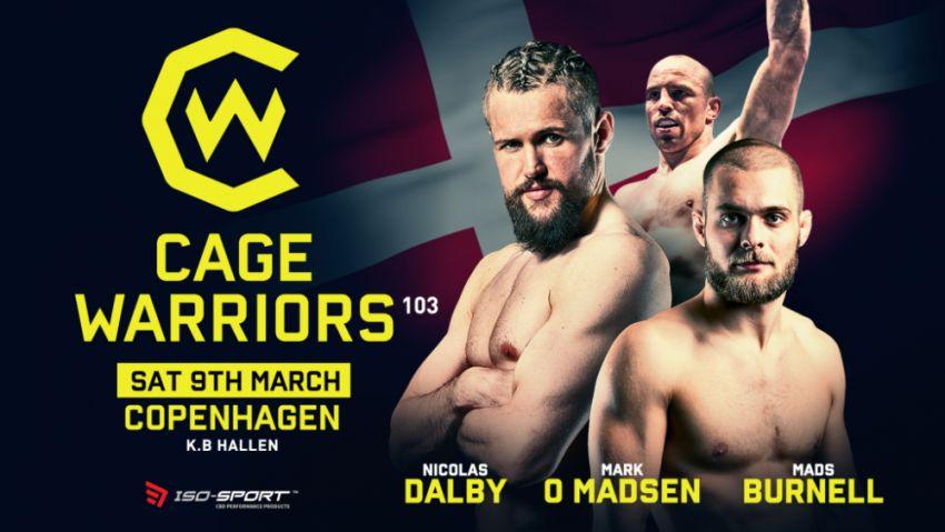 Прямая трансляция Cage Warriors 103: Николас Долби - Алекс Лохор