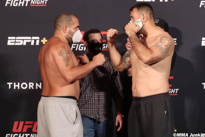 Видео боя Благой Иванов - Аугусто Сакаи UFC on ESPN 9
