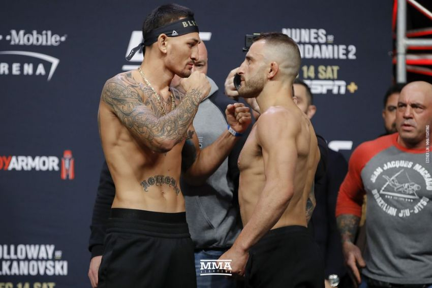 Видео боя Макс Холлоуэй - Александр Волкановски UFC 245