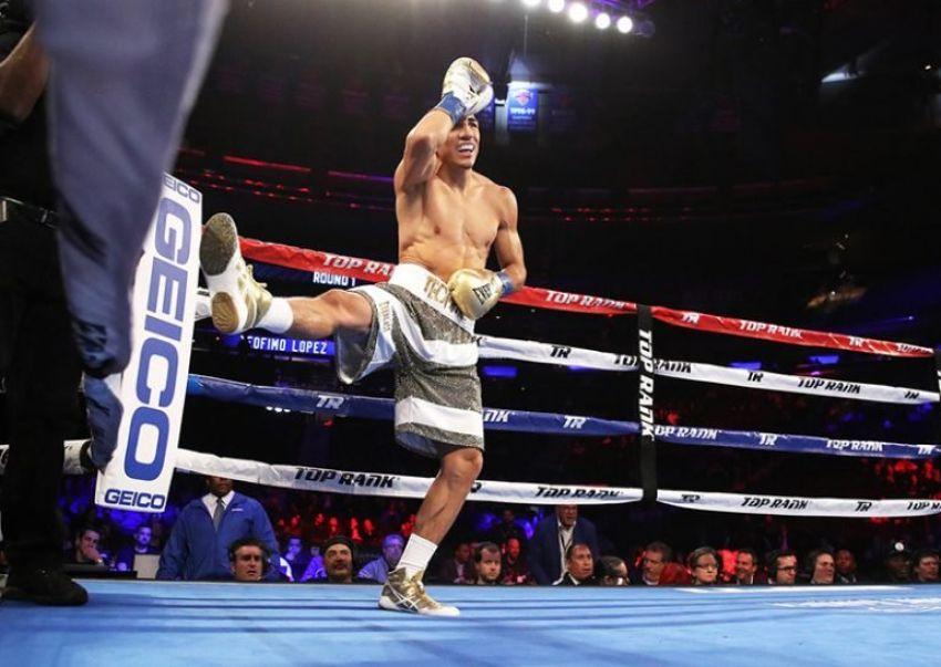 """Теофимо Лопес: """"Мой отец хочет, чтобы я стал лучшим бойцом в мире"""""""