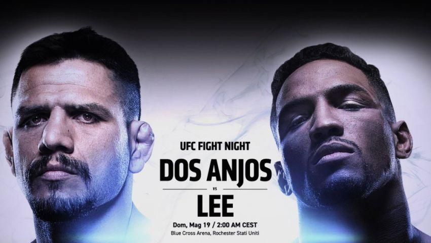Результаты турнира UFC Fight Night 152: Рафаэль Дос Аньос - Кевин Ли