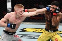 Сергей Хандожко недоволен своим дебютным боем в UFC