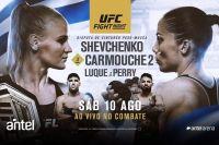 Где смотреть UFC Fight Night 156: Валентина Шевченко - Лиз Кармуш 2