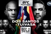 Прямая трансляция UFC Fight Night 142: Джуниор Дос Сантос – Тай Туиваса