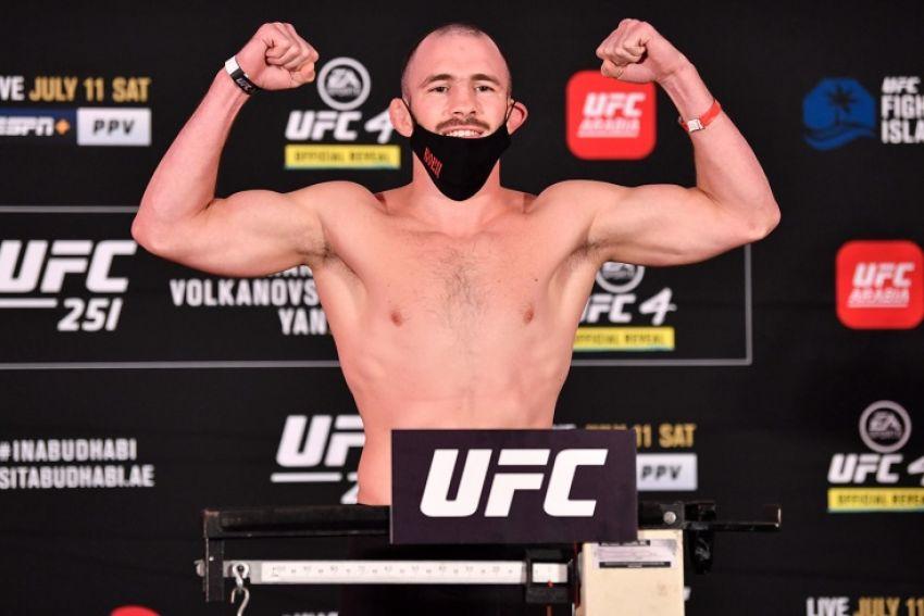 Роман Богатов уволен из UFC после одного выступления