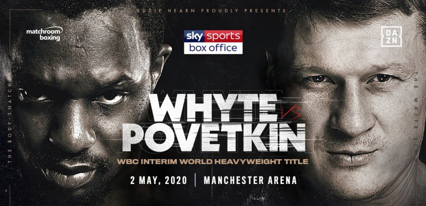 Официально: Александр Поветкин против Диллиана Уайта 2 мая в Манчестере