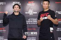 """Стердауны и открытые тренировки перед турниром UFC Fight Night 165: Фрэнки Эдгар - """"Корейский Зомби"""""""