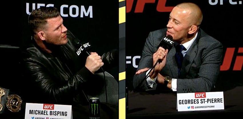 UFC 217: Лучшие моменты пресс-конференции Биспинга и Сент-Пьера