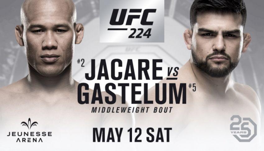 Видео боя Роналдо Соуза - Келвин Гастелум UFC 224