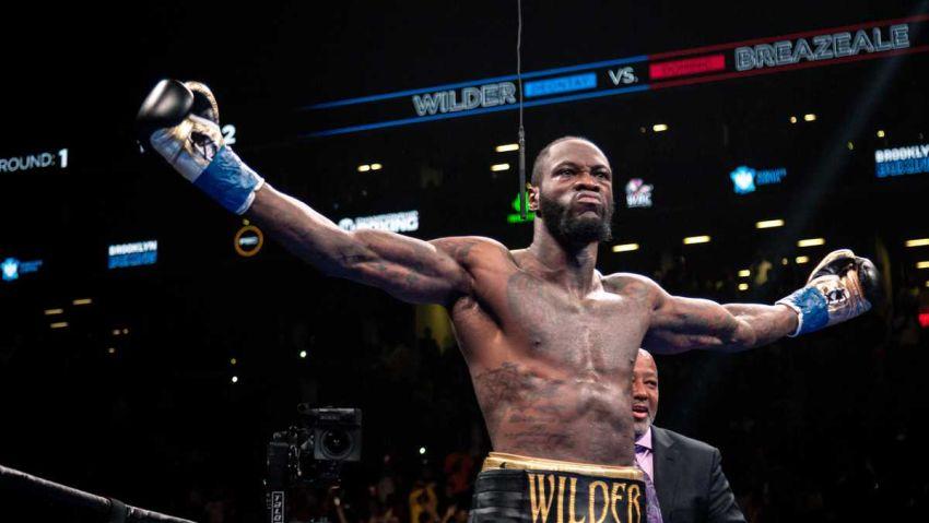 """Деонтей Уайлдер: """"Мощь Фьюри меня не впечатляет, он просто крупный парень, способный передвигаться по рингу"""""""