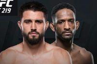 Видео боя Карлос Кондит - Нил Магни UFC 219